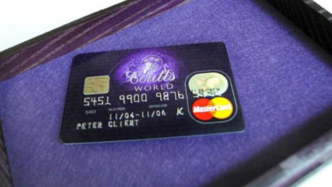هذه بطاقات الإئتمان الخارقة في العالم..  إحداها مرصعة بالماس