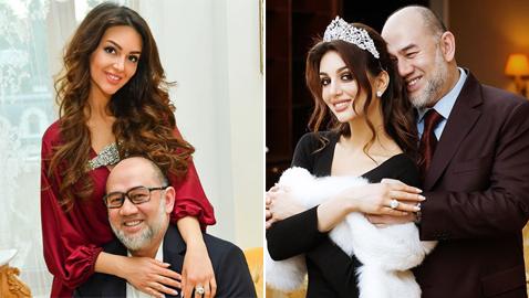 بعد زواج مثير للجدل ومولودهم الأول.. ملك ماليزيا يطلق زوجته بالثلاث!