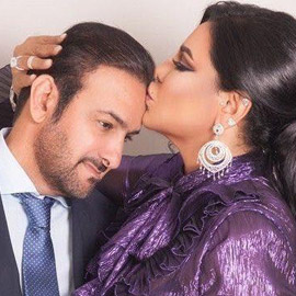 انفصال الفنانة أحلام عن زوجها مبارك الهاجري يشعل تويتر
