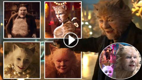 الإعلان الترويجي للفيلم الموسيقي (Cats) يثير الرعب على شبكات التواصل