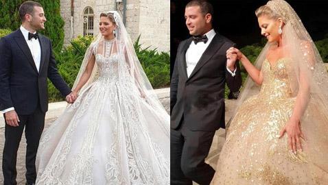 بالصور: زفاف نجل المصمم العالمي إيلي صعب يشعل مواقع التواصل