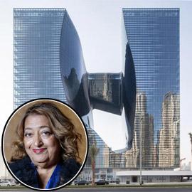 بالصور: فندق من تصميم المهندسة الراحلة زها حديد في دبي قريبا