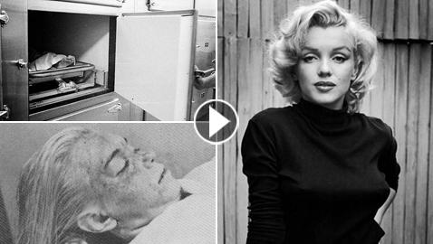 صور نادرة لجثة مارلين مونرو تظهر لأول مرة وهي بالمشرحة