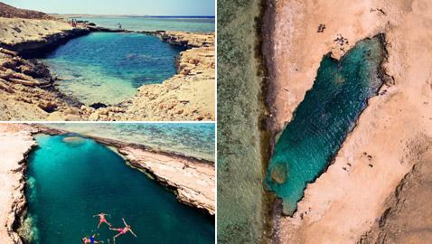 شاطئ النيزك في مصر.. جنة سرية تجذب محبي السفر من حول العالم