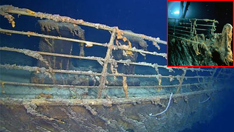 صور جديدة تظهر تحلل تيتانيك في أعماق البحار