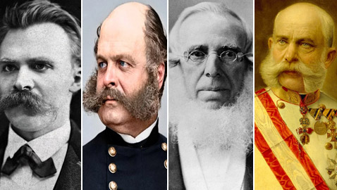 تعرفوا إلى أبرز الرجال ذوي اللحى الأكثر نفوذا عبر التاريخ