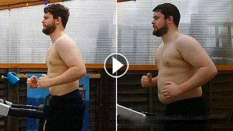 بالفيديو: رجل يكشف عن سر فقدانه 27 كيلوغراما خلال 8 أشهر فقط!