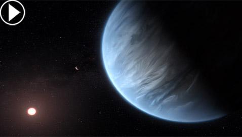 العثور لأول مرة بالتاريخ على الماء في كوكب غير الأرض!