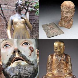 أغرب الأشياء التي عُثر عليها داخل تماثيل أثرية عمرها مئات السنين