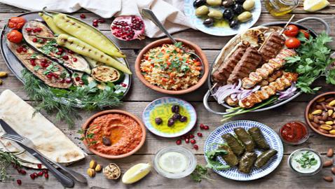 أطيب الأكلات الشرقية من مقبلات وأطباق رئيسية وحلويات