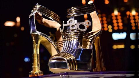 أغلى حذاء في العالم.. يُعرض في دبي مقابل 20 مليون دولار! صور