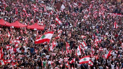 تظاهرات لبنان تدخل يومها الخامس..ومحتجون يدعون لـيوم الحسم