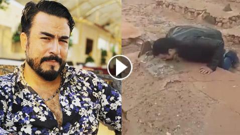 فيديو مؤثر.. فنان مغربي يعثر على قبر والده بعد 38 عاما من رحيله و15 عاما من البحث