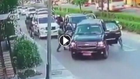 بالفيديو: لحظة اختطاف مسؤول في وزارة الداخلية العراقية