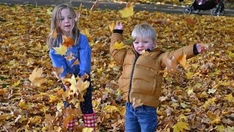 بالصور: الخريف يُلون أوروبا