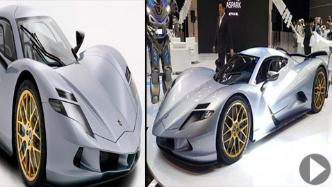 البومة اليابانية.. تعرفوا إلى أسرع سيارة كهربائية خارقة في العالم!
