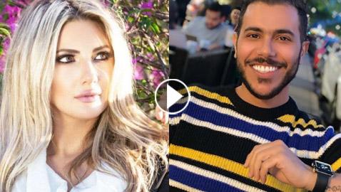 طليقة وائل كفوري تُهدّد صحفيًا سوريًا وتُطالبه بحذف فيديو.. ماني  ..