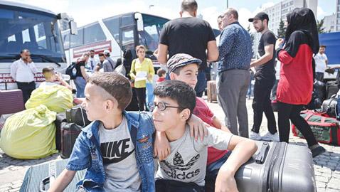 تركيا: 100 ألف سوري غادروا إسطنبول منذ يوليو