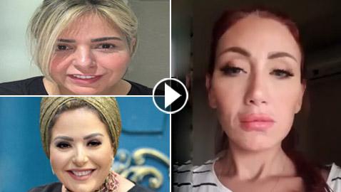 ريهام سعيد تبكي: أنا بقيت بقايا بني آدم ولا علاقة لي بأزمة صابرين!
