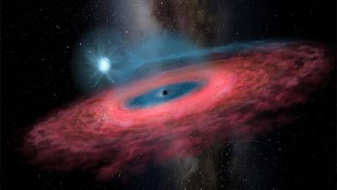 ثقب أسود جديد في مجرتنا درب التبانة بحجم لا يمكن تصوره! صور