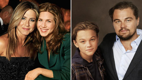 صور مميزة لأبرز الشخصيات العالمية والمشاهير مع أنفسهم في مراحل عمرية مبكرة