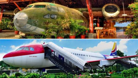 بالصور: طائرات مهجورة قديمة تحولت إلى مطاعم تقدم تجارب طعام مدهشة