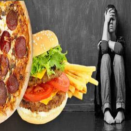 دراسة تربط بين تناول الوجبات السريعة والاكتئاب