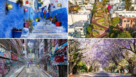 بالصور: إليكم 10 من أجمل الشوارع بوجهات مختلفة من حول العالم