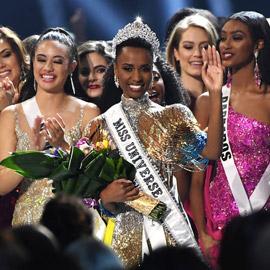 سمراء من جنوب إفريقيا تتوج ملكة جمال الكون 2019.. وتاجها يخطف الأنظار