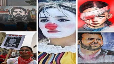 5 وجوه أصبحت رموزا للاحتجاج حول العالم واكتسبت شهرة عالمية