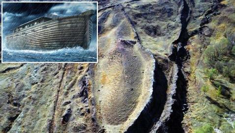 صور: علماء يكشفون أسرارا جديدة عن موقع سفينة نوح!