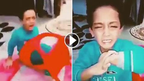أم تعذب طفلها.. وترسل فيديو العقاب لوالده