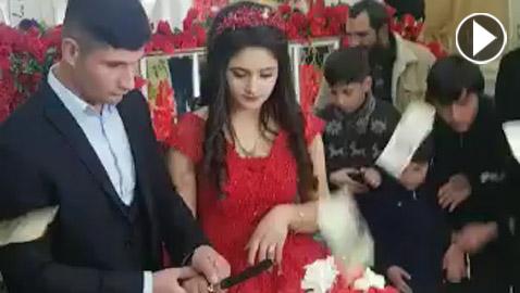 بالفيديو.. العريس المتهور يدمر ليلة العمر
