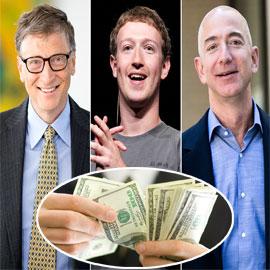 أغنياء العالم يراكمون الثروات.. وطلاق مالك أمازون يضربه