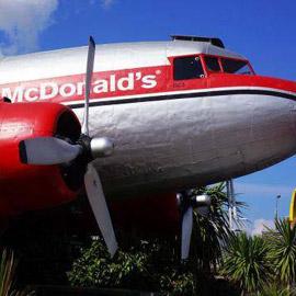 طائرات تحوّلت إلى مطاعم.. وهكذا كانت النتيجة، صور