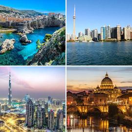 بالصور: أفضل 10 أماكن لرحلات عائلية وإجازة مشمسة في 2020