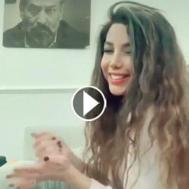 شاهدوا.. دانا الحلبي ترد بطريقة ساخرة بعد انتقاد خطوبتها من عبدالمنعم  ..