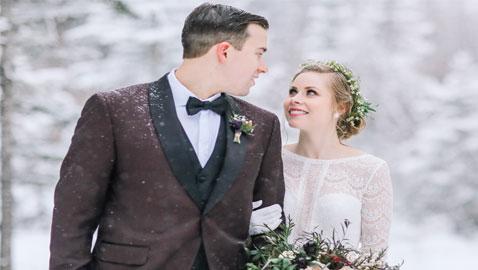 أفكار لزفاف مذهل في فصل الشتاء