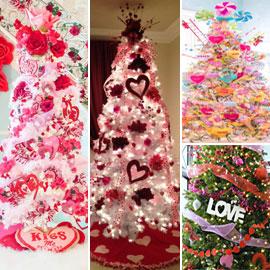 أشجار الفالنتاين.. توجه جديد هذا العام