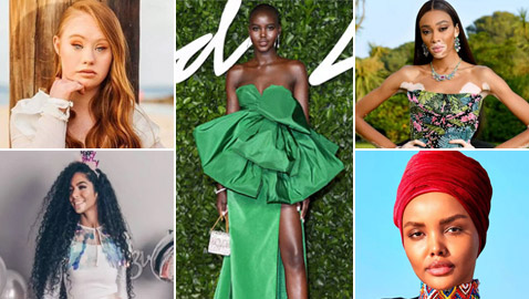 بالصور: عارضات أزياء استثنائيات كسرن صور الجمال النمطية!