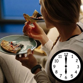 سر الرشاقة: توقف عن الأكل بعد السادسة مساءا!