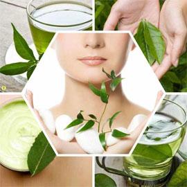 الشاي الاخضر مذهل للبشرة: نضارة، مكافحة التجاعيد والهالات السوداء