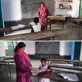 مفتوحة منذ سنوات وبها مدرِّسان وطباخ.. قصة مَدرسة هندية تقدم تعليمها  ..