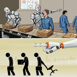 البشر خائفون: هل ستسلب الروبوتات وظائفهم وتسيطر عليها؟
