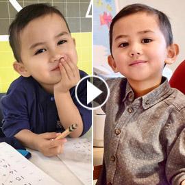 فيديو وصور أصغر عبقري في العالم: طفل ماليزي مذهل في الثالثة!