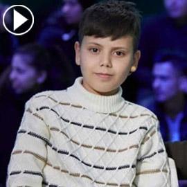 طفل سوري يتمتع بقدرات استثنائية