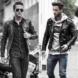 ليس للنساء فقط: أزياء جلد رجالي تتصدر الموضة.. اختر ما يعجبك