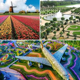 بالصور: إليكم أكبر الحدائق الخلابة في العالم