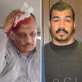 طالب مصري يهدد بحرق كلية ويعتدي على أستاذه بمسدس!