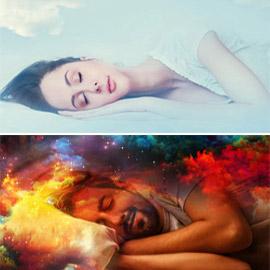 الأحلام أثناء النوم هي قصص واقعية تعكس مشاكلنا اليومية!